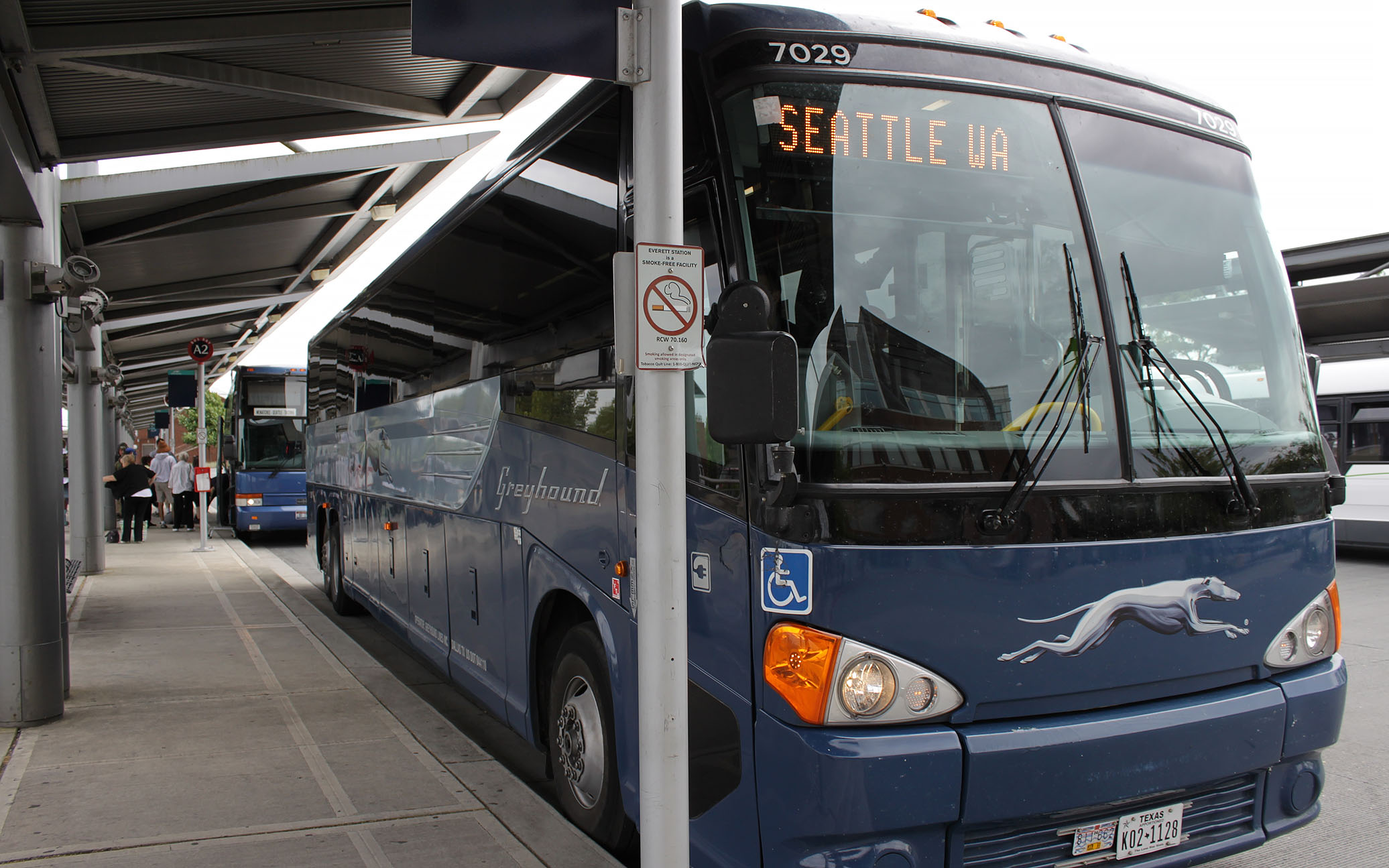 Greyhound bus schedule