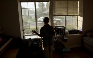 A boy with autism