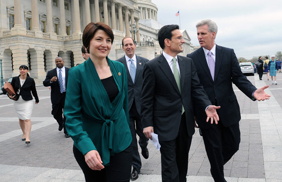 U.S. Rep. Cathy McMorris Rodgers, who has a son with Down syndrome, will deliver the Republican response to President Barack Obama's State of the Union address on Tuesday. (Olivier Douliery/Abaca Press/MCT)