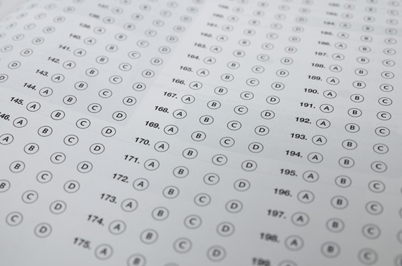 Florida officials are rethinking stringent requirements that make it difficult for students with even the most severe disabilities to be excused from standardized tests. (Shutterstock)