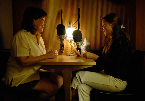 Members of the disability community can contribute stories to the Disability Visibility Project at StoryCorps' traveling booth in addition to locations in San Francisco, Chicago and Atlanta. (StoryCorps)