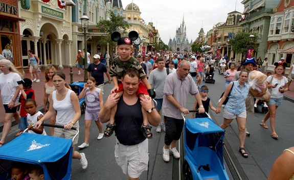 Disney wants a lawsuit challenging its new disability access policy to be dismissed. (Joe Burbank/Orlando Sentinel/MCT)