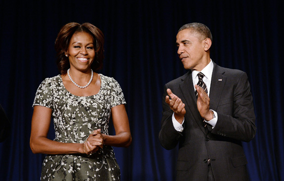 The Obamas will celebrate the work of Special Olympics during a dinner Thursday at the White House. (Olivier Douliery/Abaca Press/MCT)
