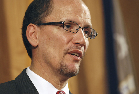 U.S. Secretary of Labor Thomas Perez told Politico that a federal move away from allowing people with disabilities to be paid less than minimum wage ought to be an example for states. (Pat Vasquez-Cunningham/Albuquerque Journal/Zuma Press/MCT)