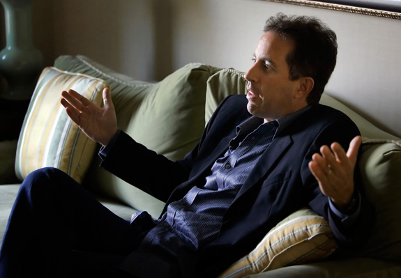 Jerry Seinfeld says he sees traits in himself that align with the autism spectrum. (Laurence Kesterson/Philadelphia Inquirer/MCT)