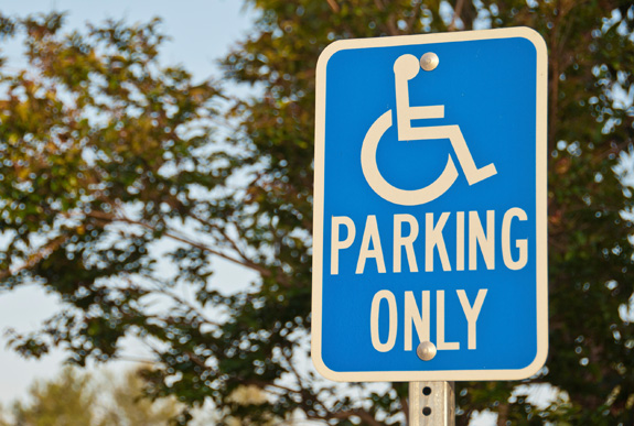 Stiffer penalties and stepped up enforcement are among the measures states are taking to help ensure that accessible parking spaces are available for those who truly need them. (Thinkstock)